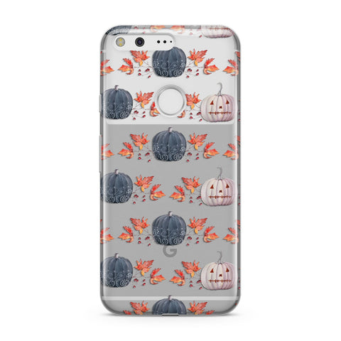 Pumpkin & Autumn Leaves Google Case