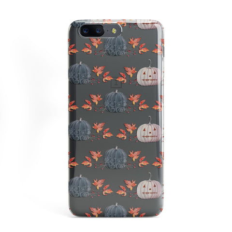Pumpkin & Autumn Leaves OnePlus Case