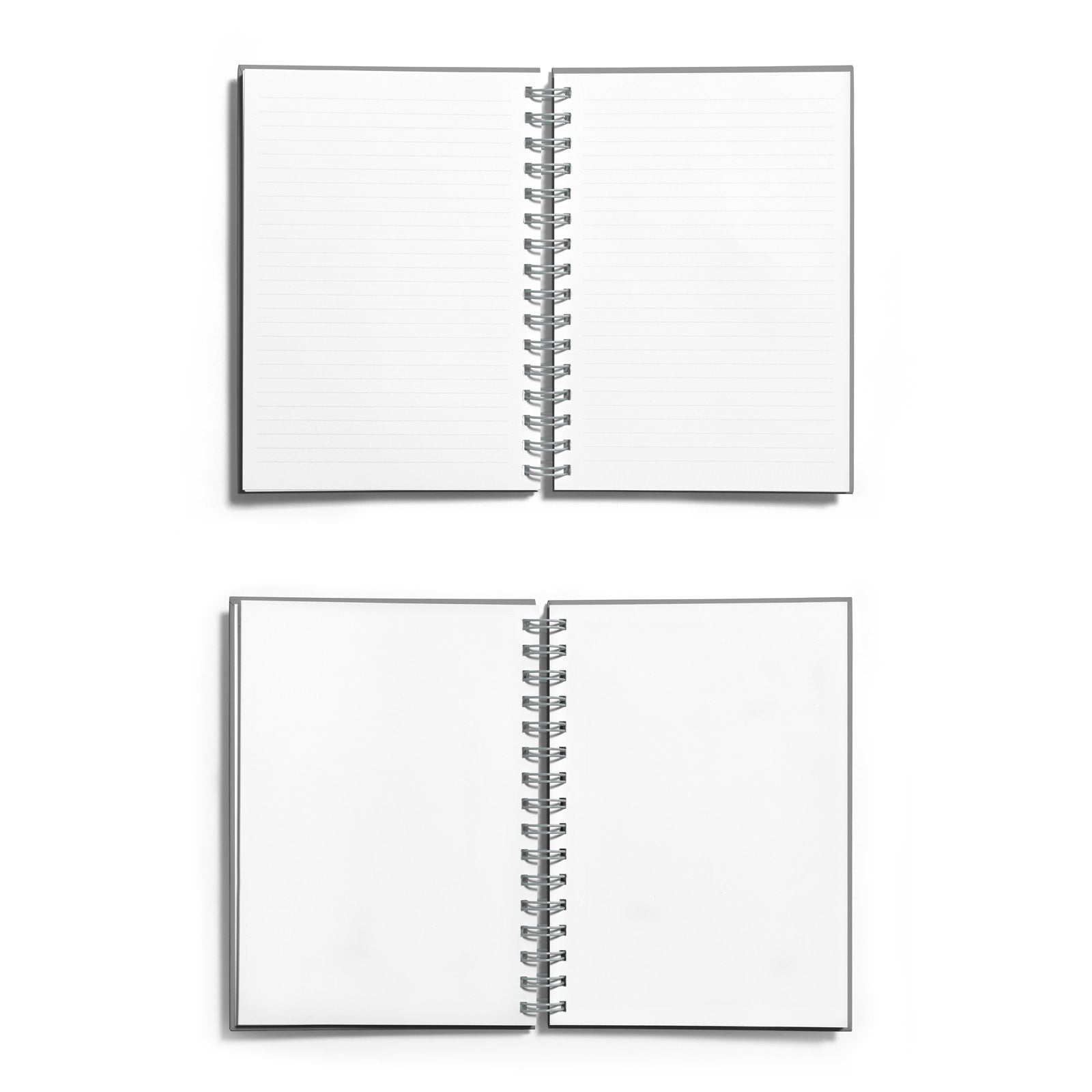 Personalised First Wedding Anniversary Red Foil Notebook Choice of Paper
