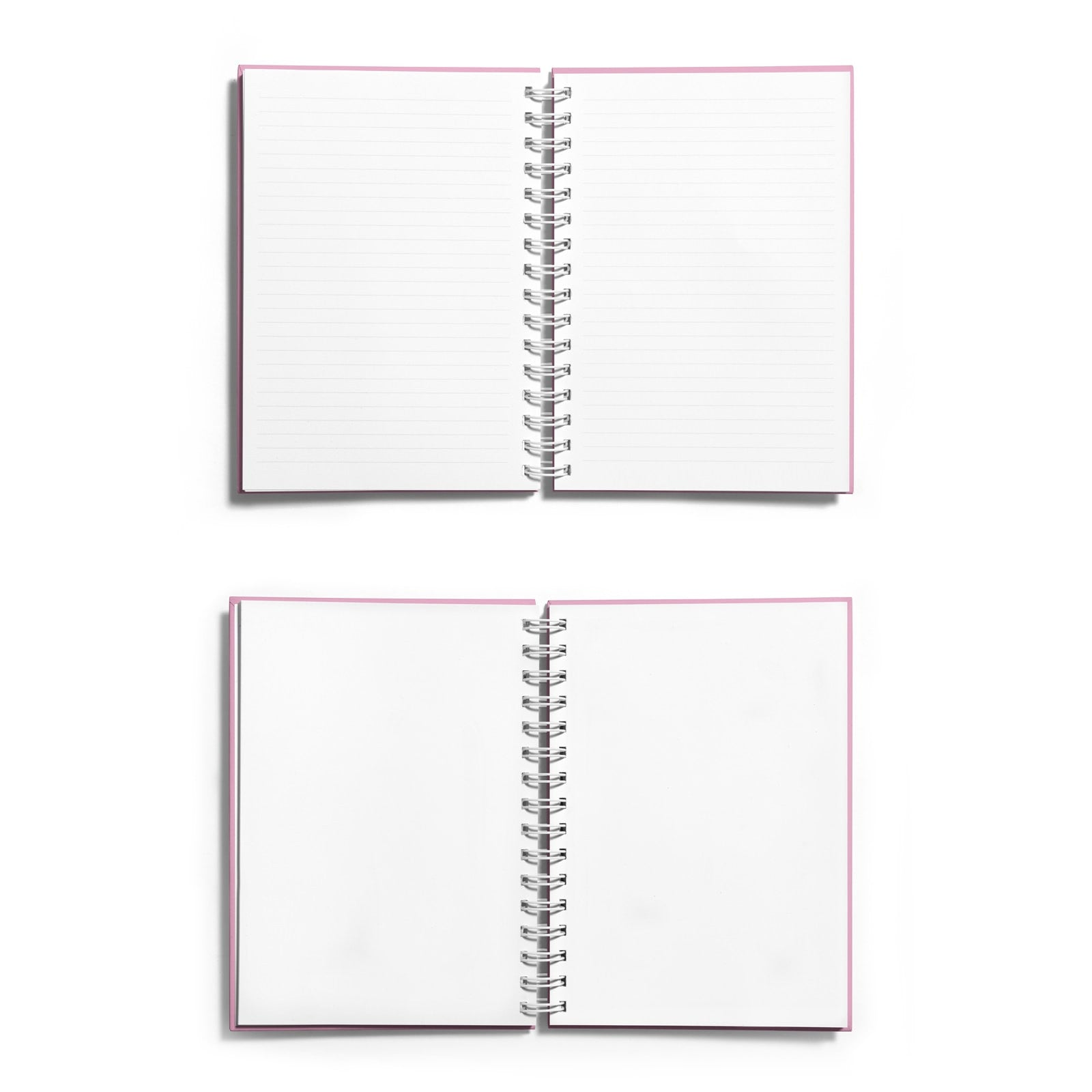 Personalised Red Foil I Love You Notebook Choice of Paper