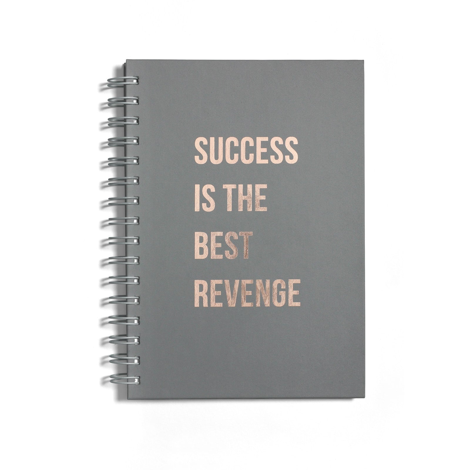 Rose Gold Foil Success is the Best Revenge Notebook