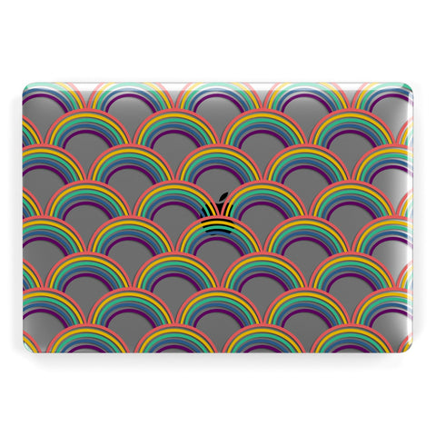 Rainbow Pattern Macbook Case