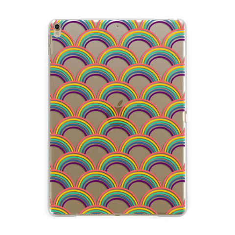 Rainbow Pattern iPad Case