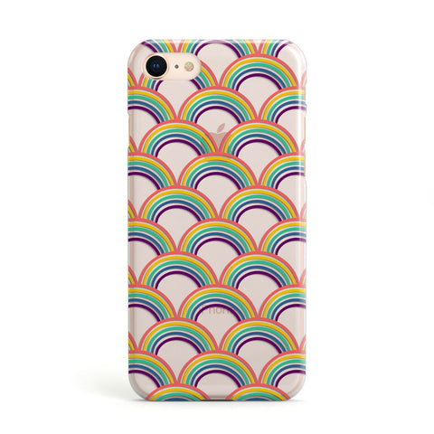 Rainbow Pattern iPhone Case