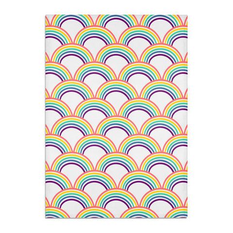 Rainbow Pattern Tea Towel