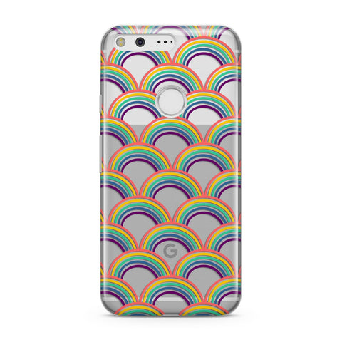 Rainbow Pattern Google Case