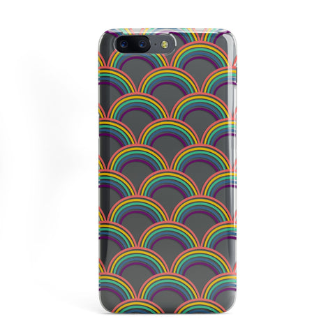 Rainbow Pattern OnePlus Case