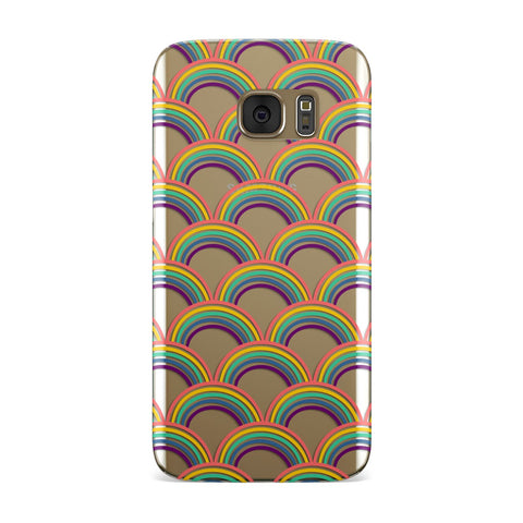 Rainbow Pattern Samsung Galaxy Case