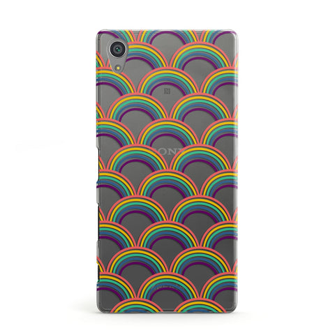 Rainbow Pattern Sony Case