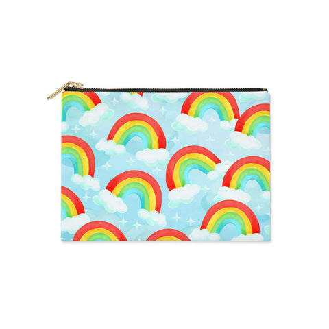Rainbow Sky Clutch Bag