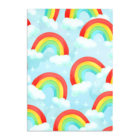 Rainbow Sky Tea Towel