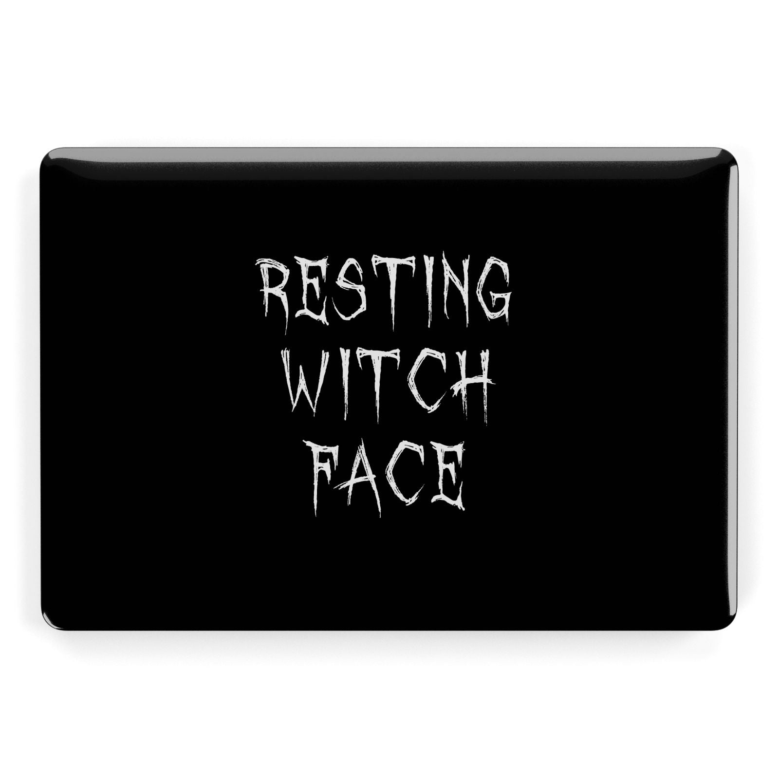Resting Witch Face Apple MacBook Case