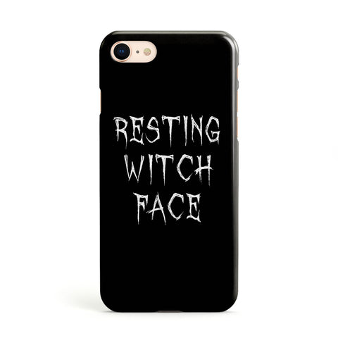 Resting Witch Face Apple iPhone Case