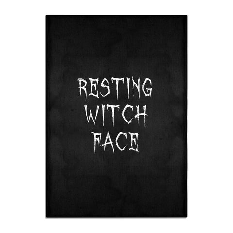 Resting Witch Face Tea Towel
