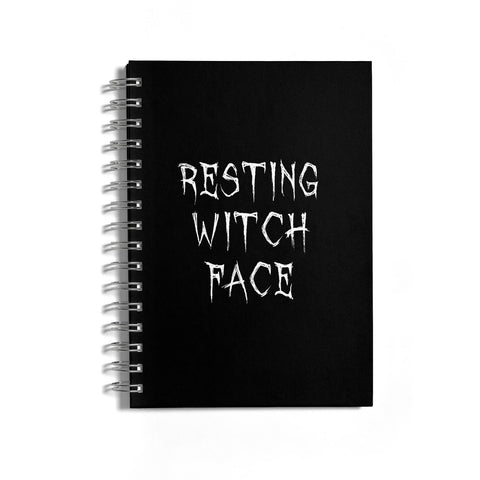 Resting Witch Face Notebook