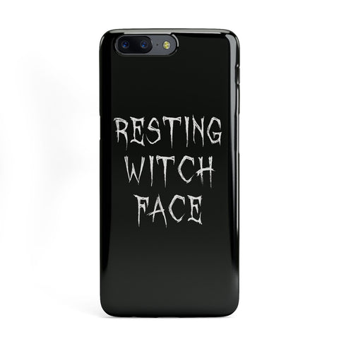 Resting Witch Face OnePlus Case