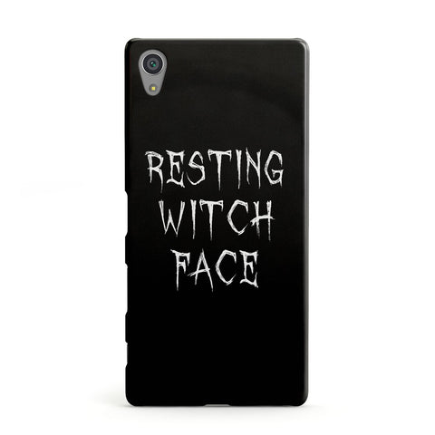 Resting Witch Face Sony Case