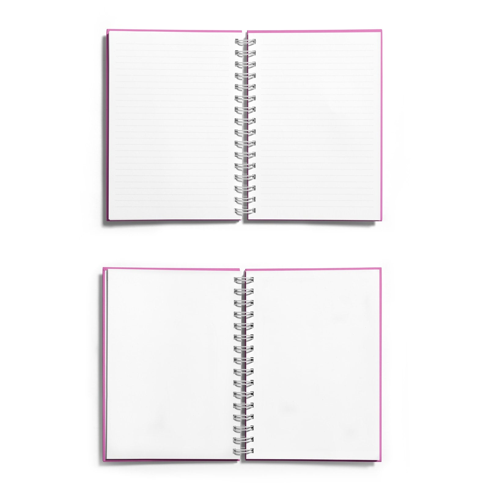 Personalised Silver Foil Hold Those Thoughts Notebook Choice of Paper