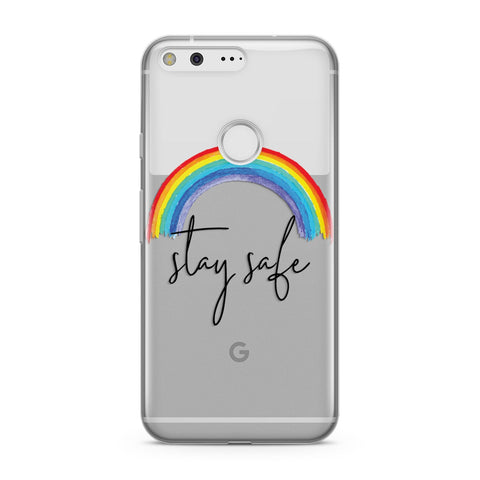 Stay Safe Rainbow Google Case