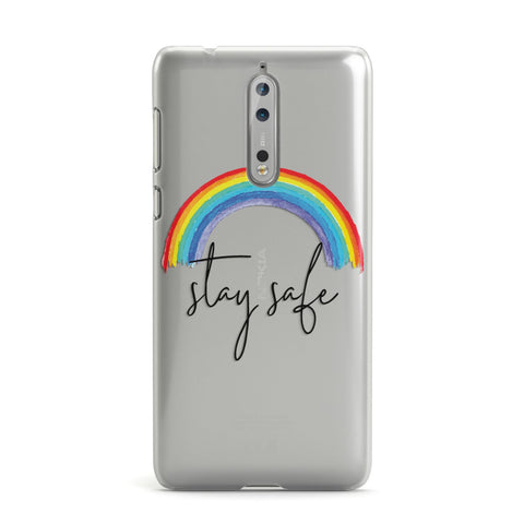 Stay Safe Rainbow Nokia Case