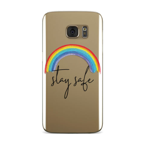 Stay Safe Rainbow Samsung Galaxy Case
