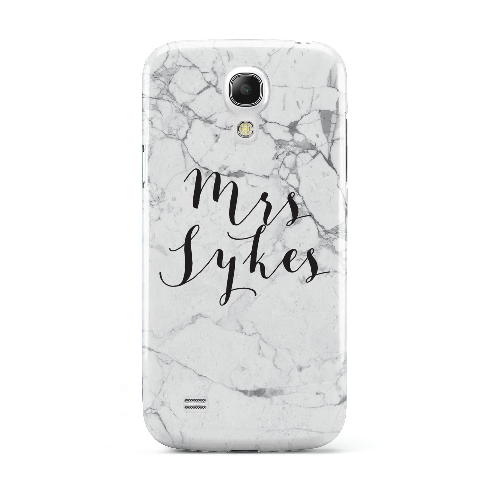 Surname Personalised Marble Samsung Galaxy S4 Mini Case