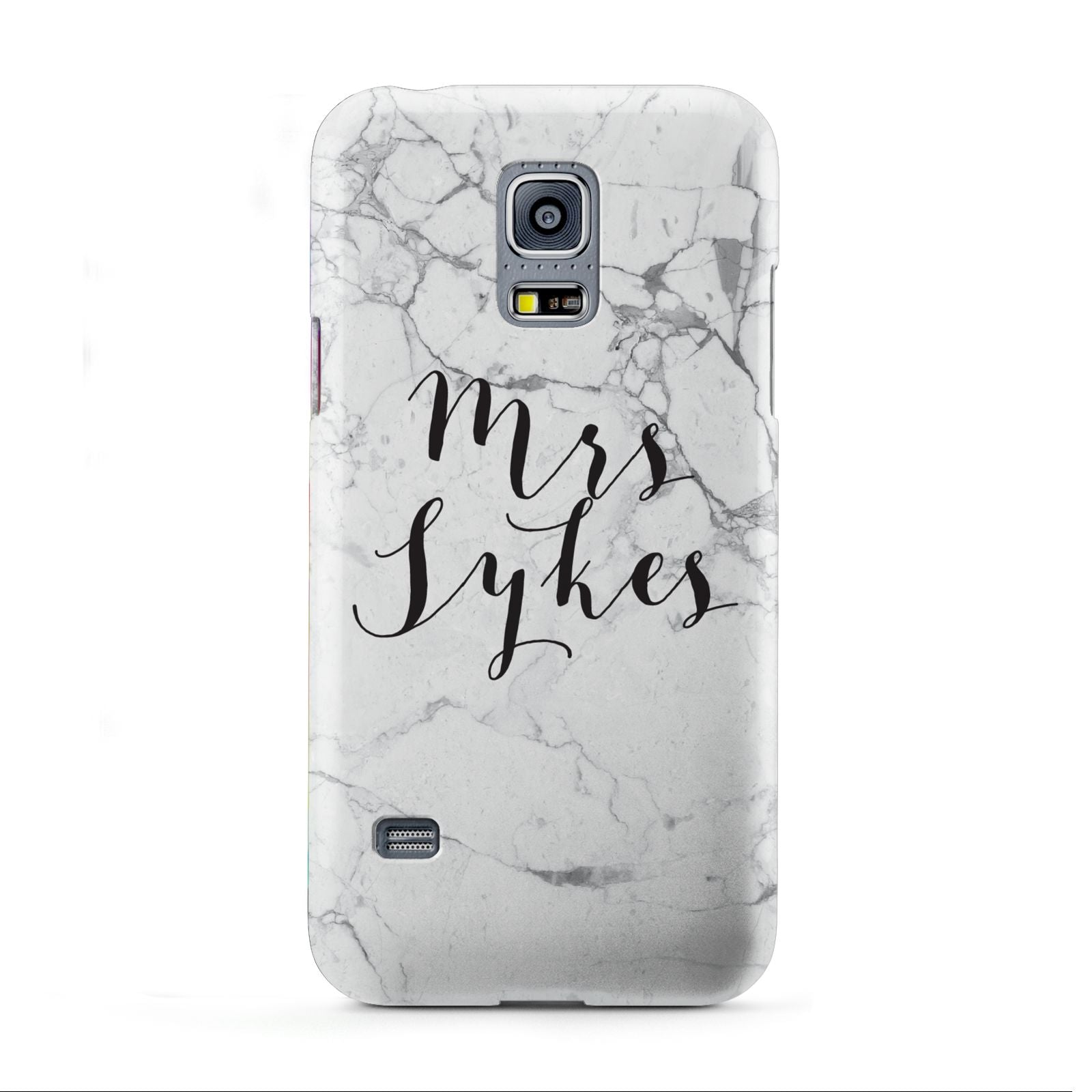 Surname Personalised Marble Samsung Galaxy S5 Mini Case