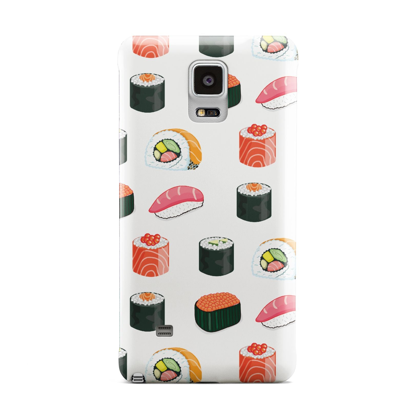 Sushi Pattern 1 Samsung Galaxy Note 4 Case