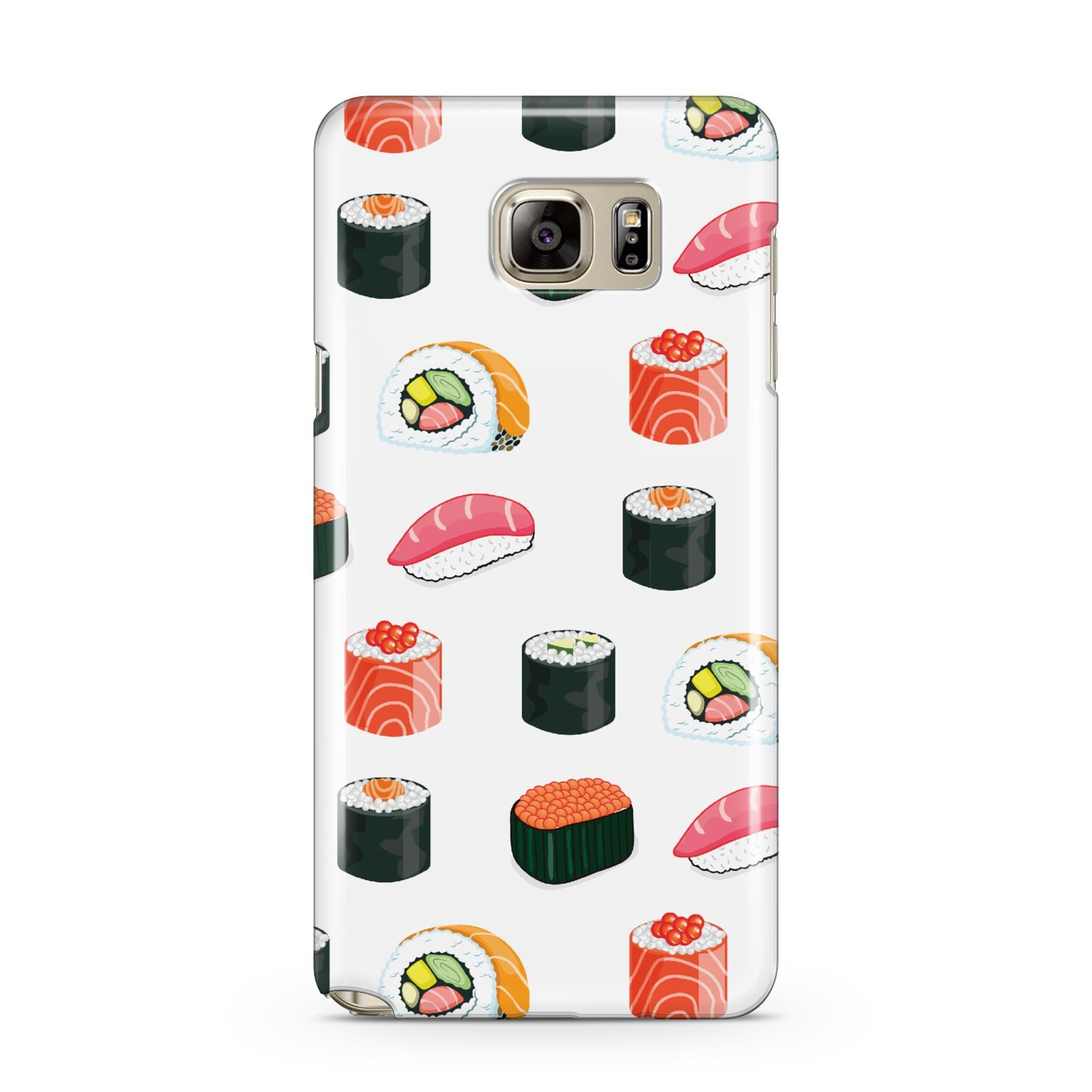 Sushi Pattern 1 Samsung Galaxy Note 5 Case