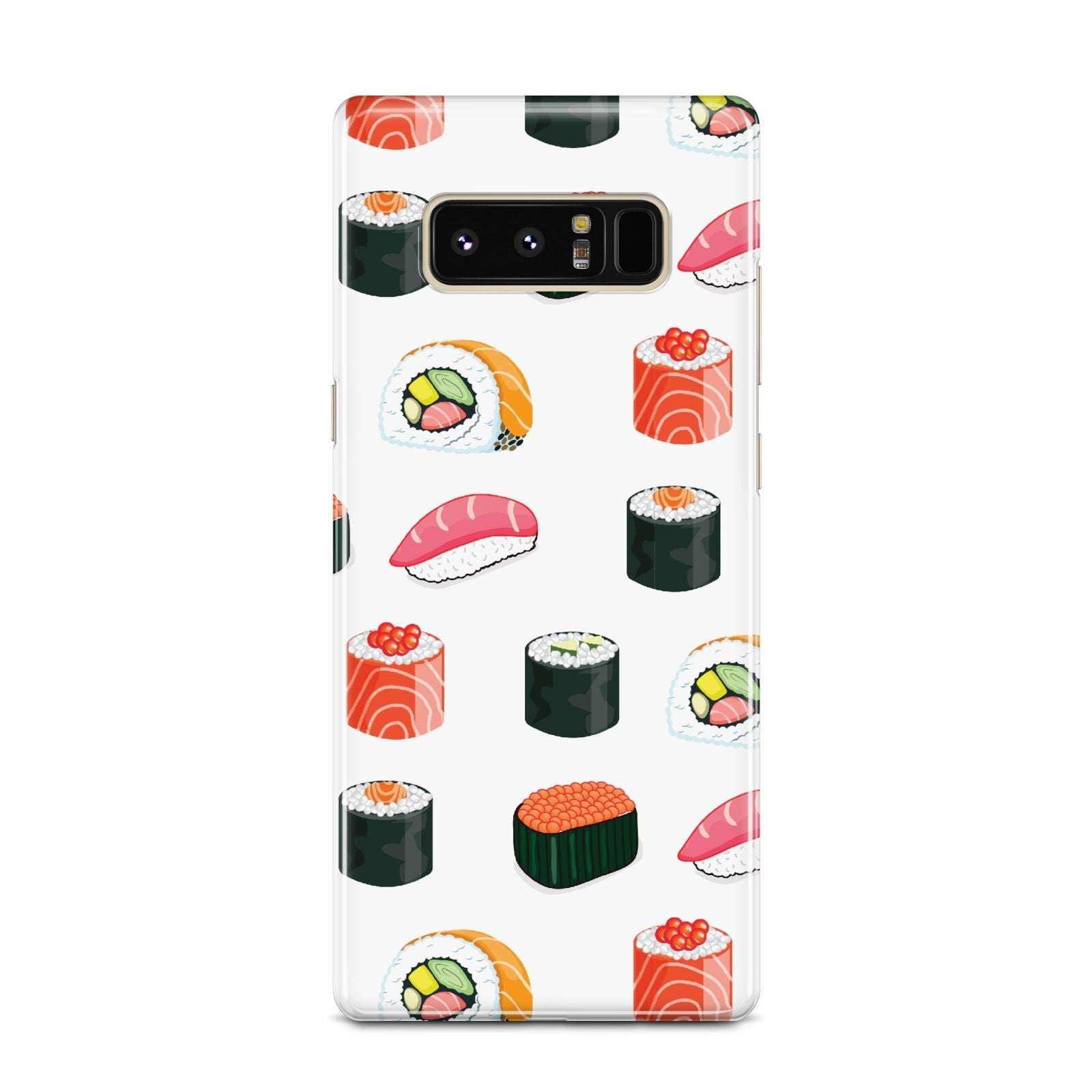 Sushi Pattern 1 Samsung Galaxy Note 8 Case