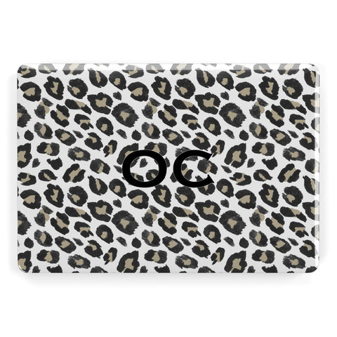 Tan Leopard Print Pattern Apple Macbook Case
