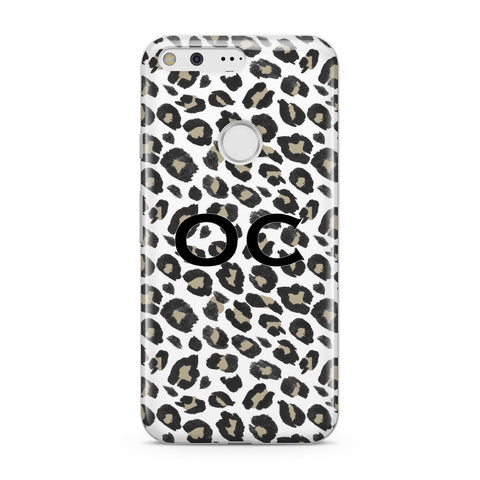 Tan Leopard Print Pattern Google Case