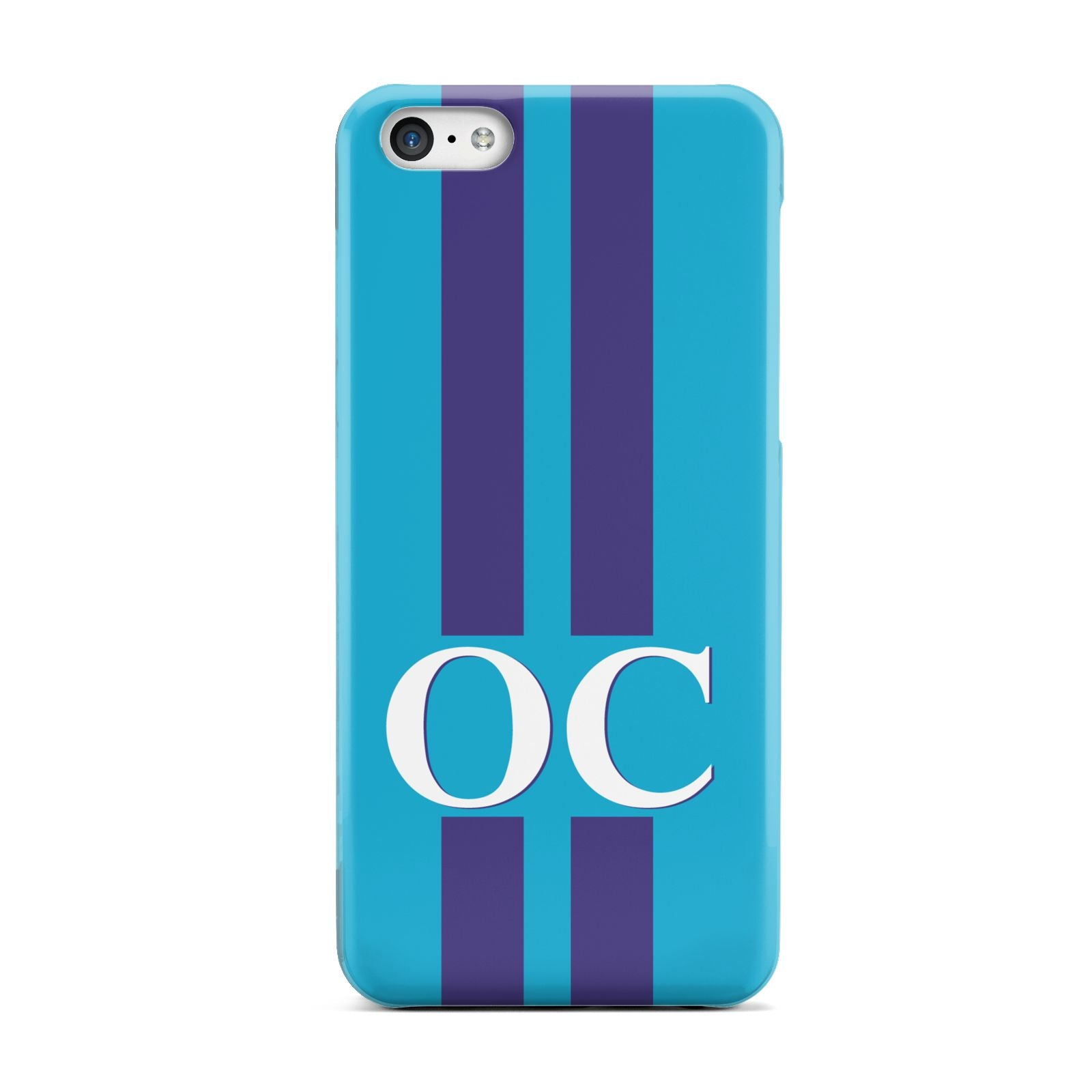 Turquoise Personalised Apple iPhone 5c Case