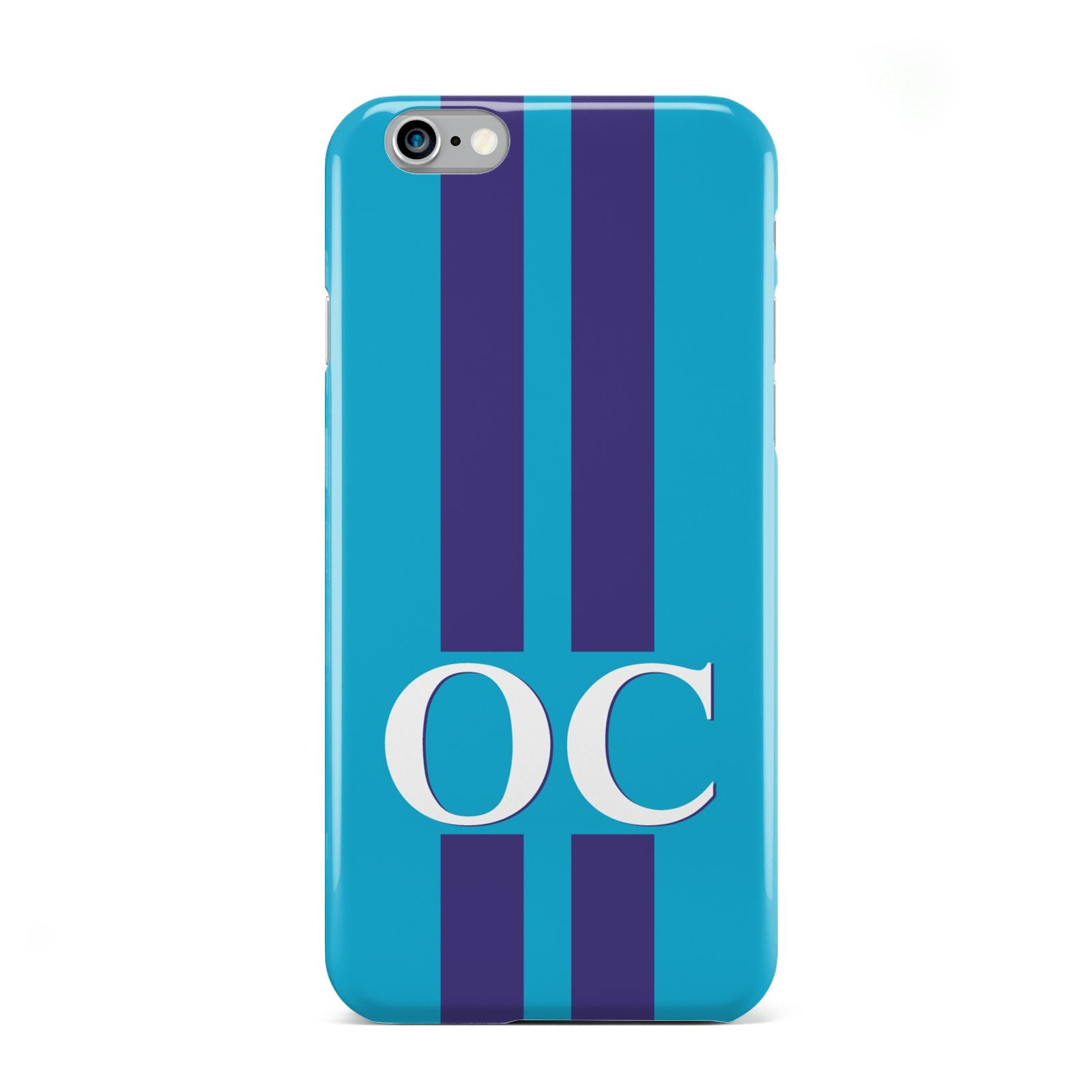 Turquoise Personalised Apple iPhone 6 Case