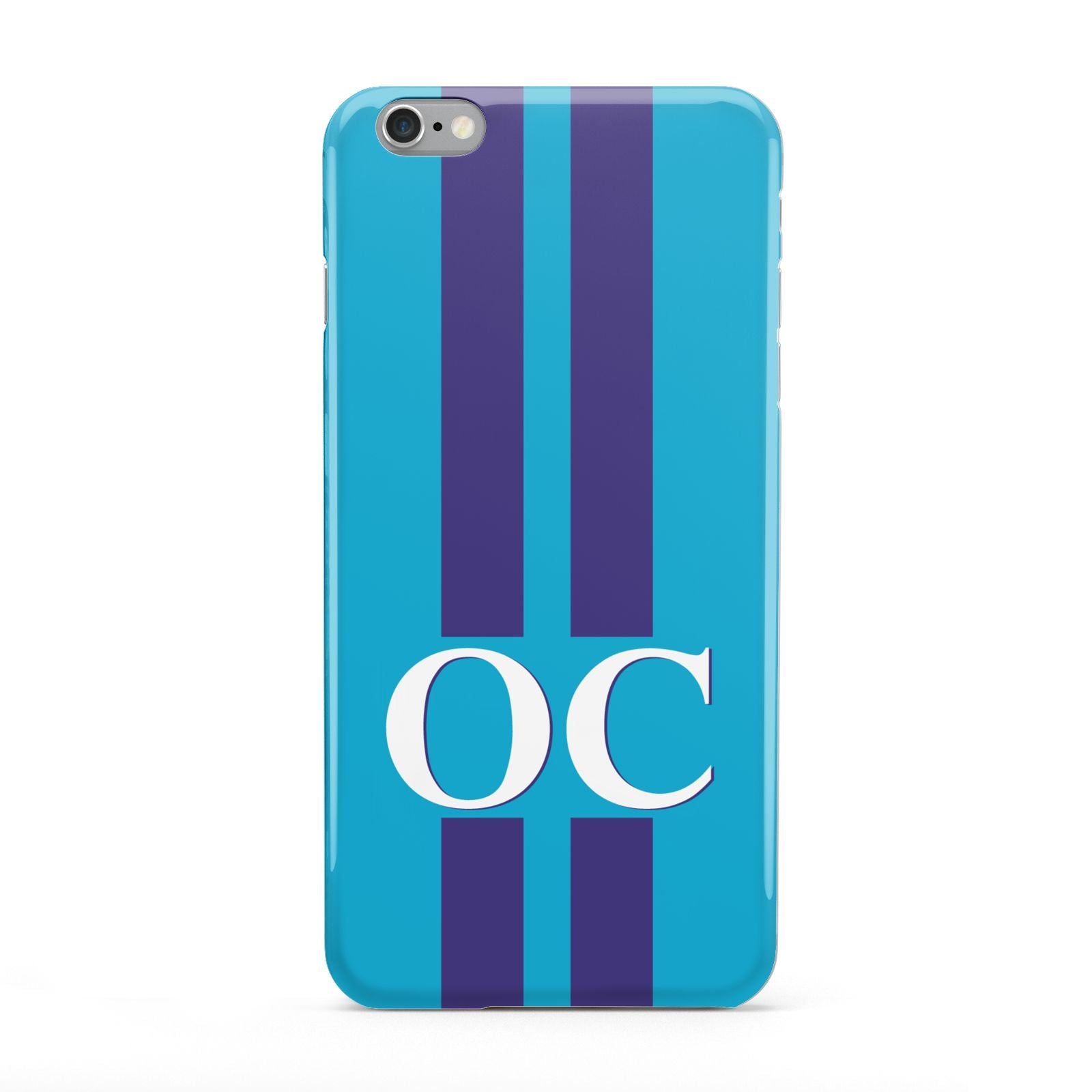 Turquoise Personalised Apple iPhone 6 Plus Case