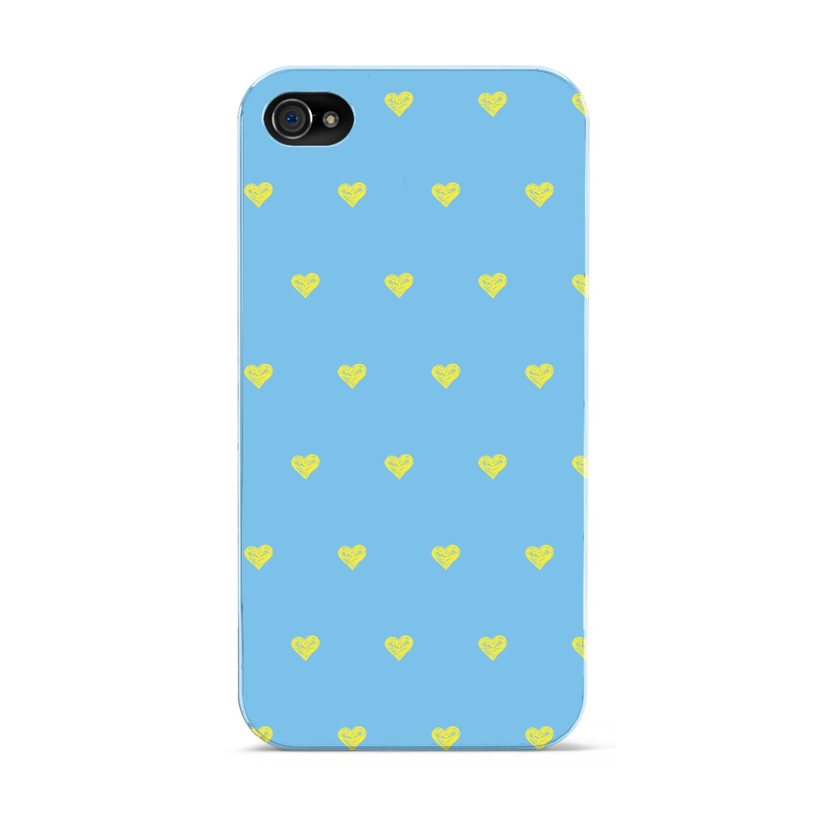 Valentines Hearts Polka Dot Apple iPhone 4s Case
