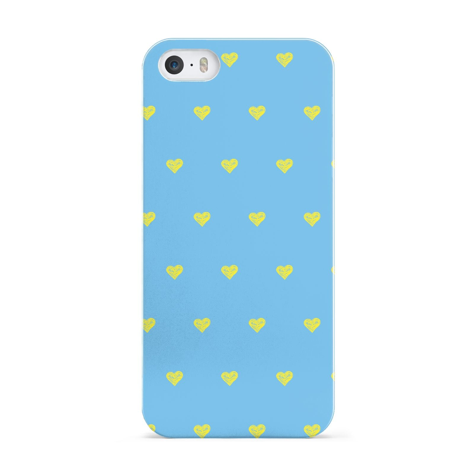 Valentines Hearts Polka Dot Apple iPhone 5 Case