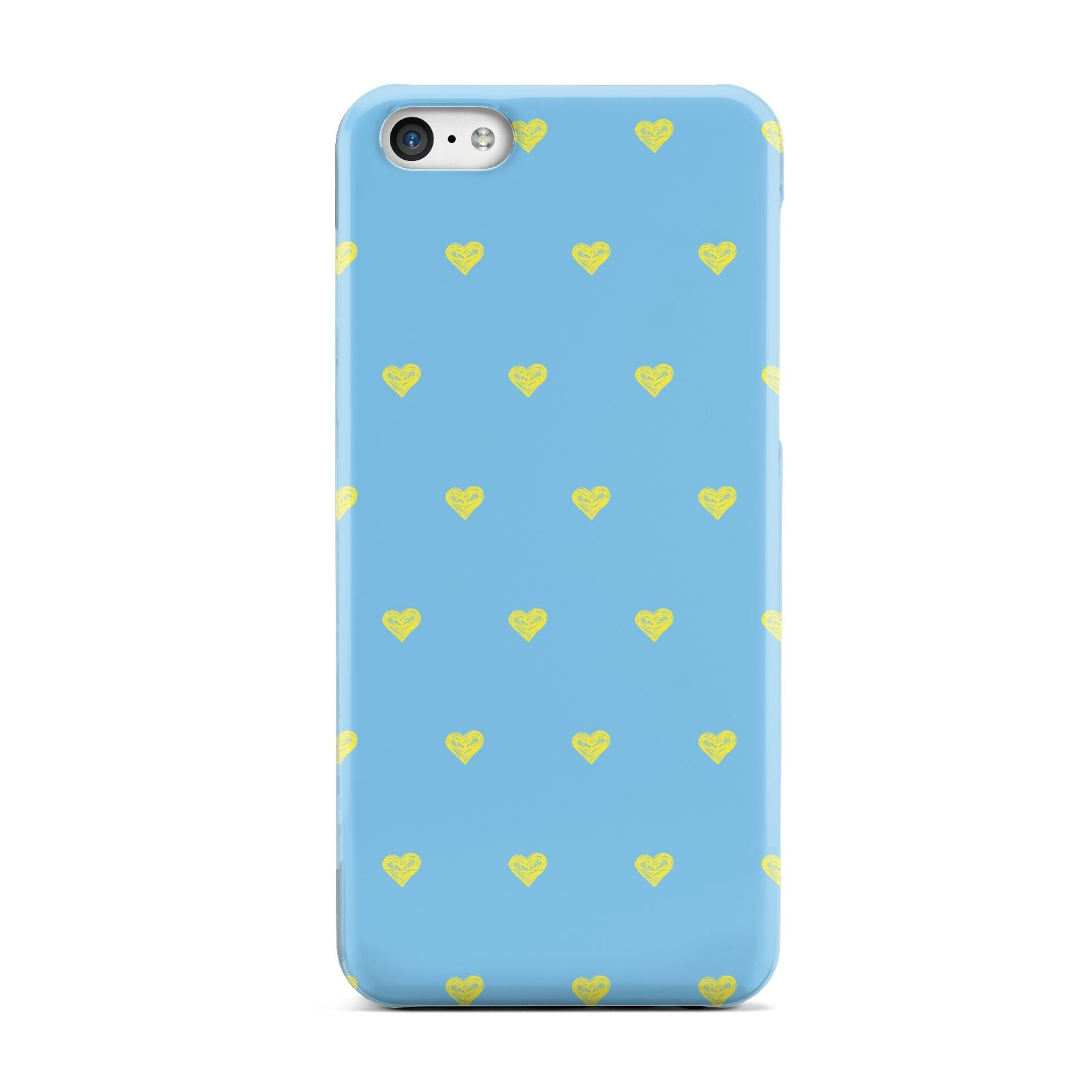 Valentines Hearts Polka Dot Apple iPhone 5c Case