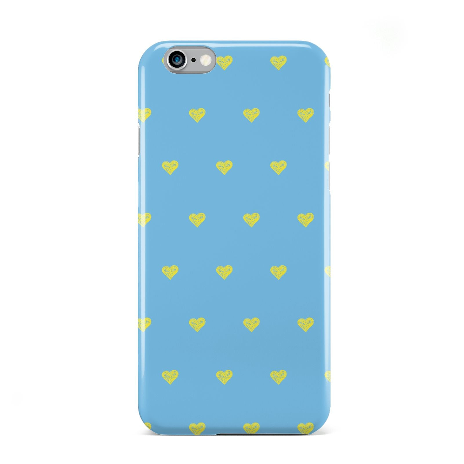 Valentines Hearts Polka Dot Apple iPhone 6 Case