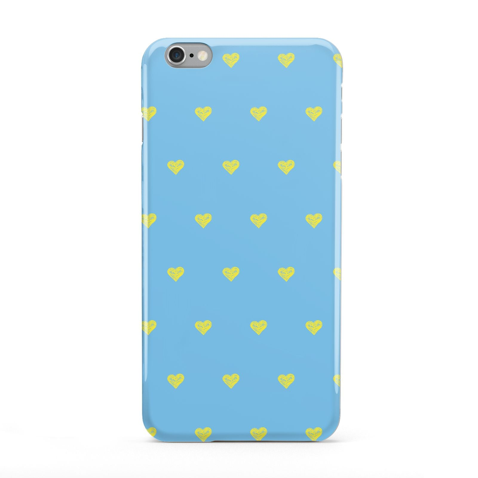 Valentines Hearts Polka Dot Apple iPhone 6 Plus Case