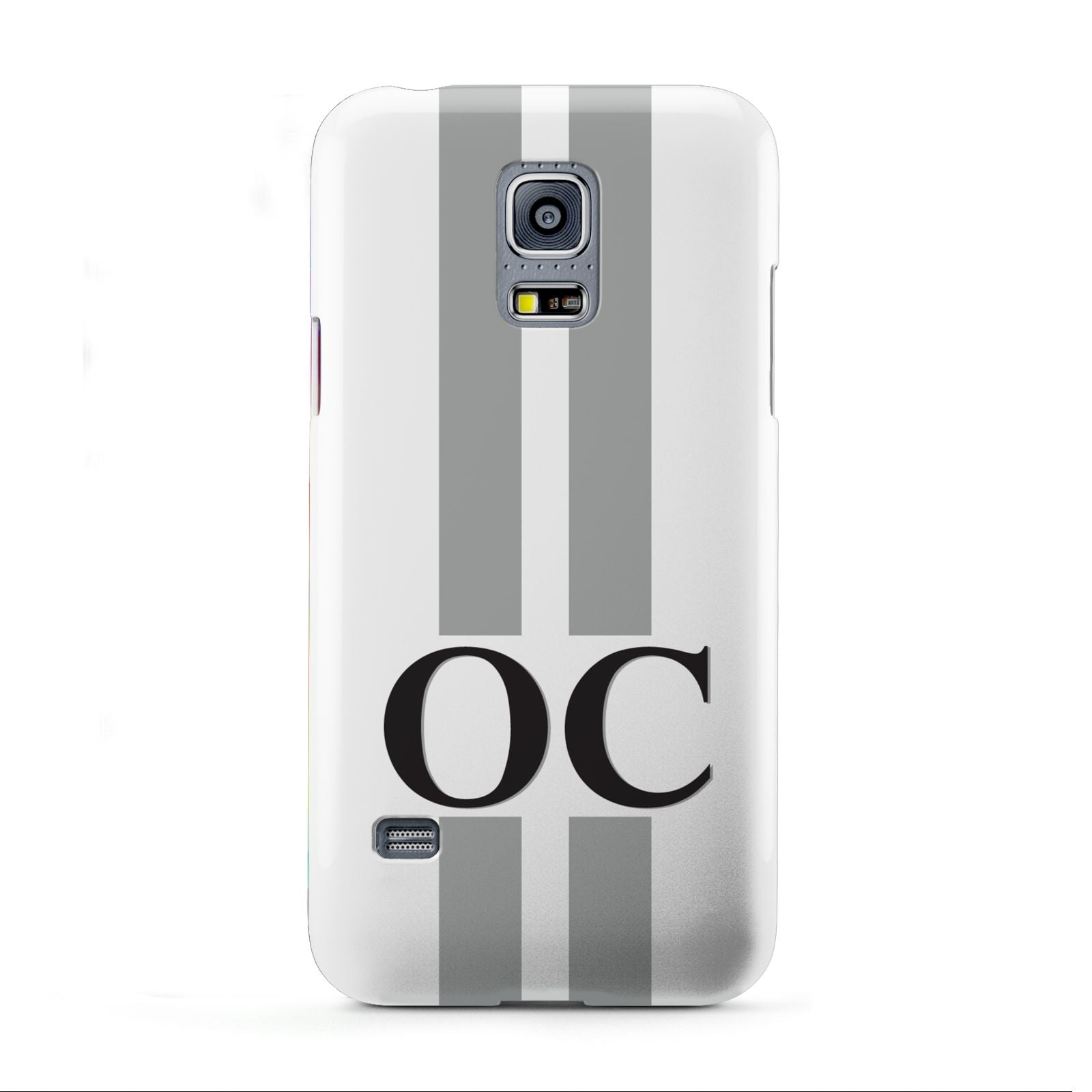 White Personalised Initials Samsung Galaxy S5 Mini Case