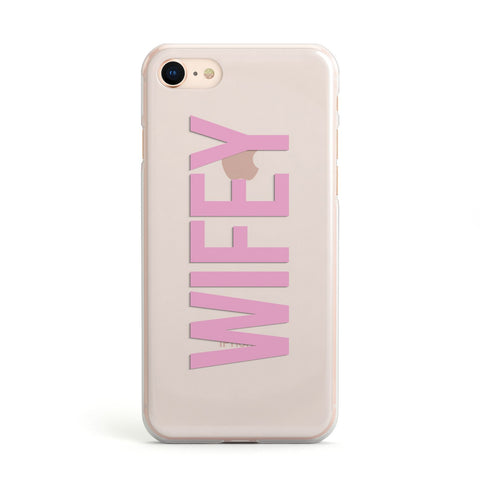 Wifey Pink iPhone Case