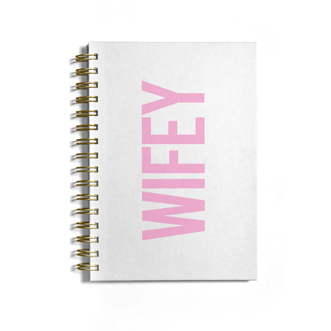 Wifey Pink Notebook