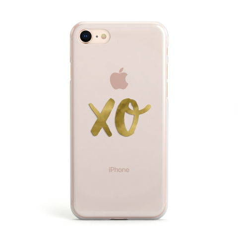 Xo Real Gold Foil Apple iPhone Case