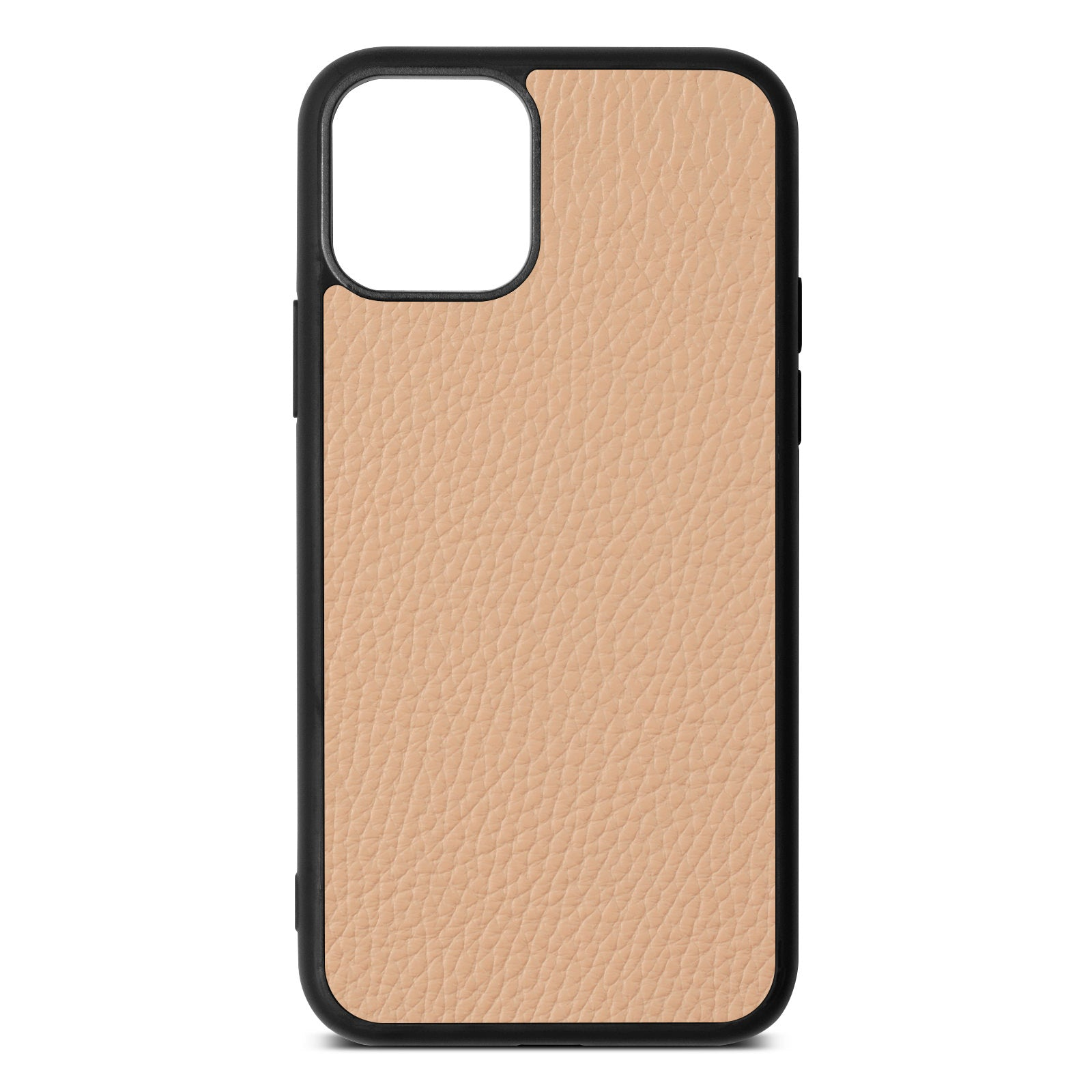 Blank iPhone 11 Nude Pebble Leather Case