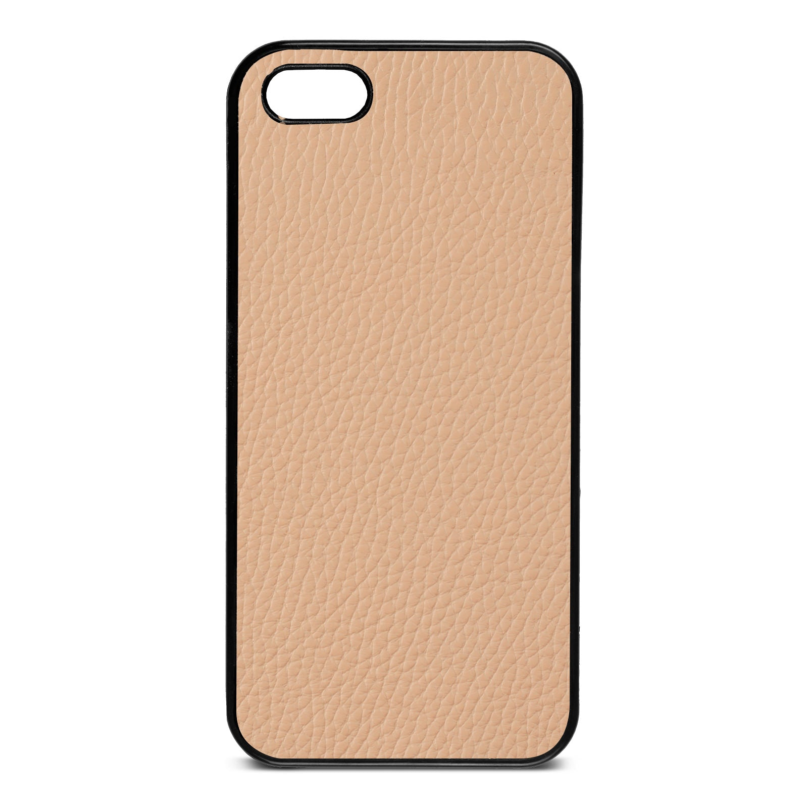 Blank iPhone 5 Nude Pebble Leather Case