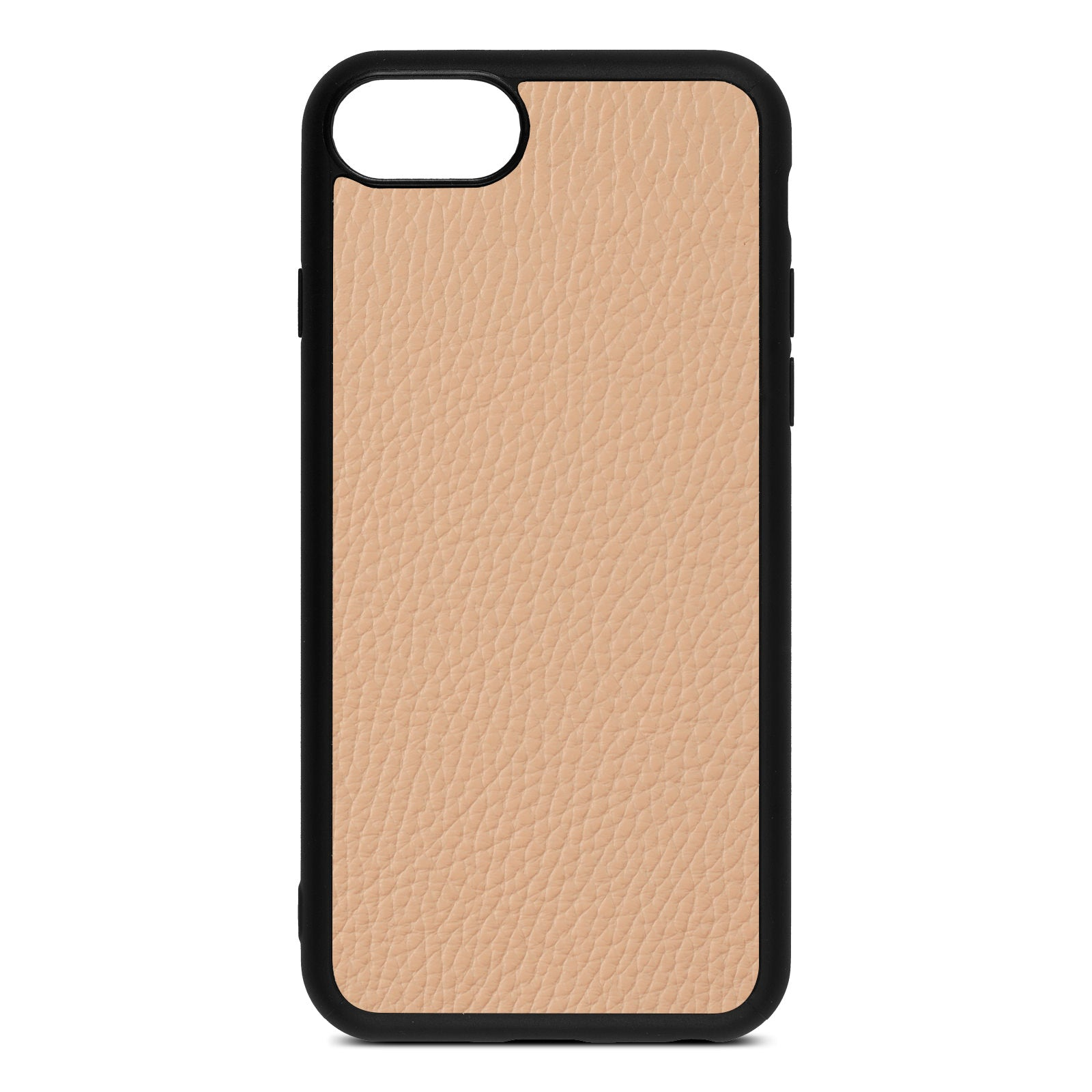 Blank iPhone 8 Nude Pebble Leather Case