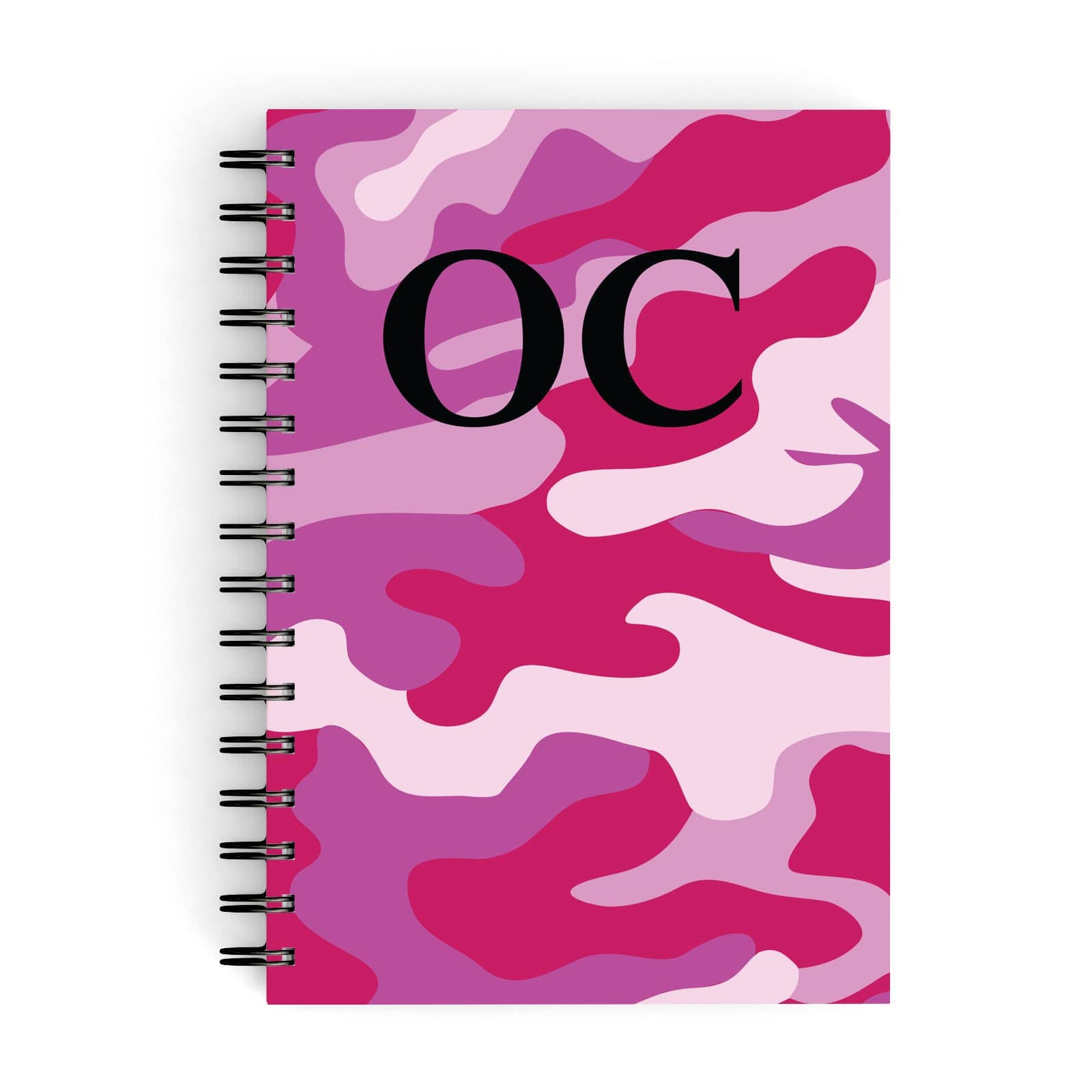 Camouflage Personalised A5 Hardcover Notebook