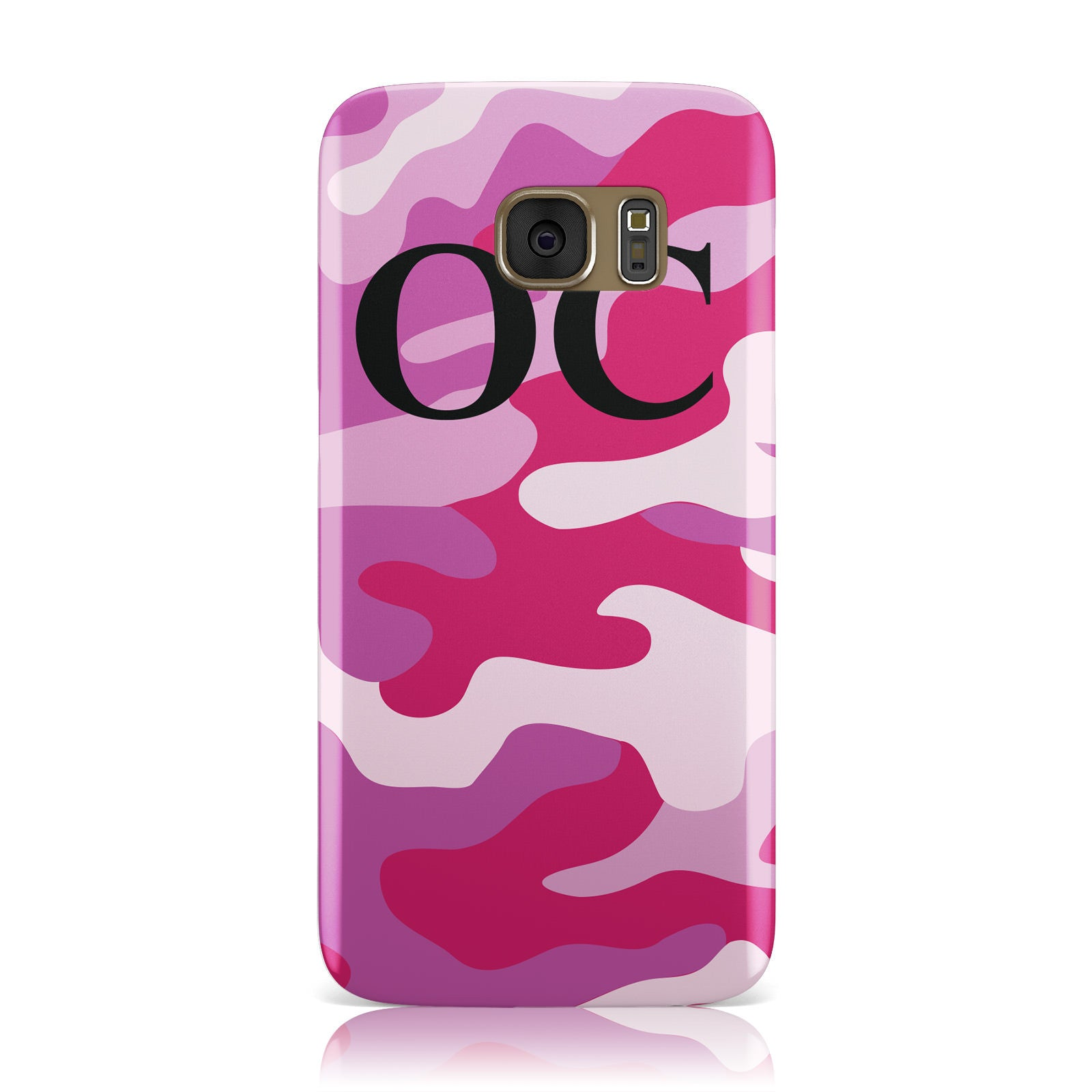 Camouflage Personalised Samsung Galaxy Case