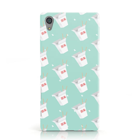 Chinese Takeaway Pattern Sony Xperia Case